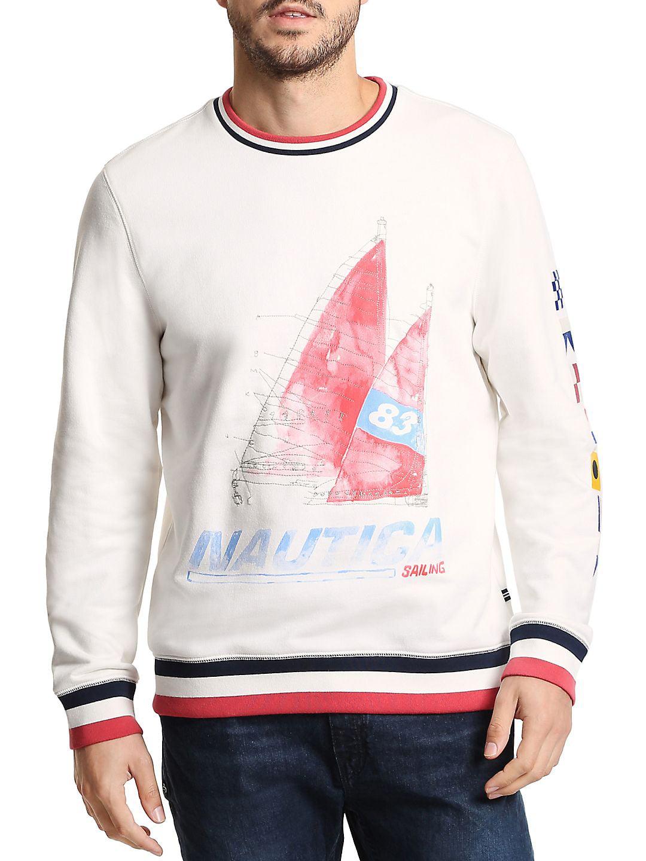 Artist Series Crewneck Cotton Pullover