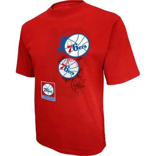 NBA Men's Philadelphia 76Ers Short Sleeve Tee