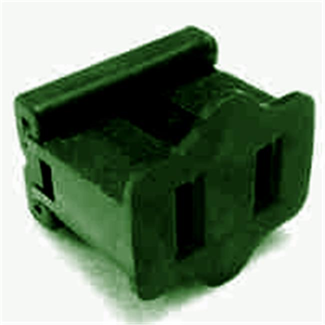 Queens of Christmas WL-PL-FPG-2 Green Female Electrical Receptacle - Pack of 50