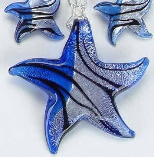 Starfish Sapphire Necklace Collection Design Jewelry Accessory Charm