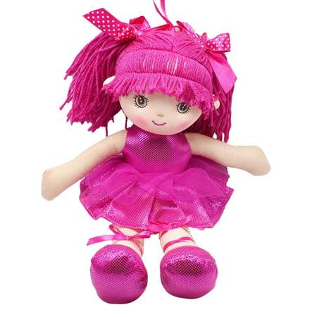 Plush Doll Toy Doll - Plush Toy Cute Dolls 2019 hotsales Soft Lifelike Cloth Dolls Baby's Little Partner Stuffed Toy