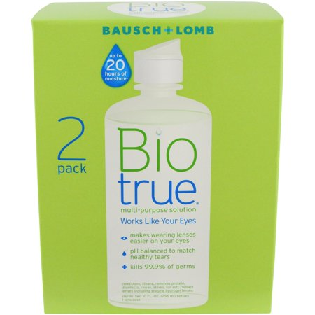 Bausch & Lomb Biotrue For Soft Contact Lenses Multi-Purpose Solution, 10 oz, 2 ct