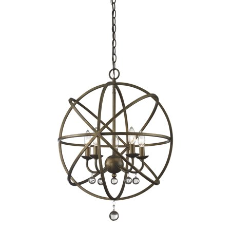 New zlite Product  Acadia Collection 5 Light Pendant in Golden Bronze Finish Sold by (Acadia Collection)
