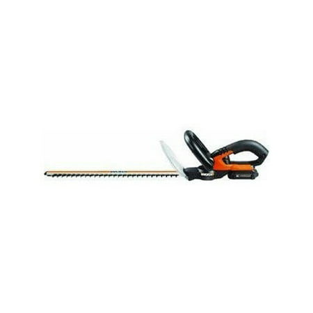 "WORX WG255.1, 20V Max* Power Share, 20"" Hedge Trimmer, (1) 1.5ah Battery"