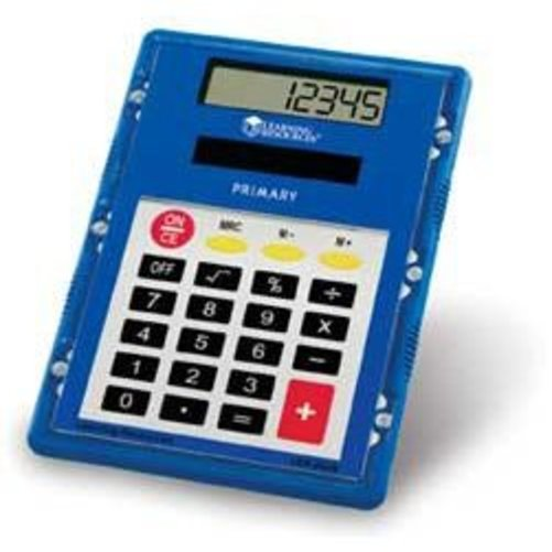 Learning Resources OVERHEAD PRIMARY CALCULATOR Multi-Colored