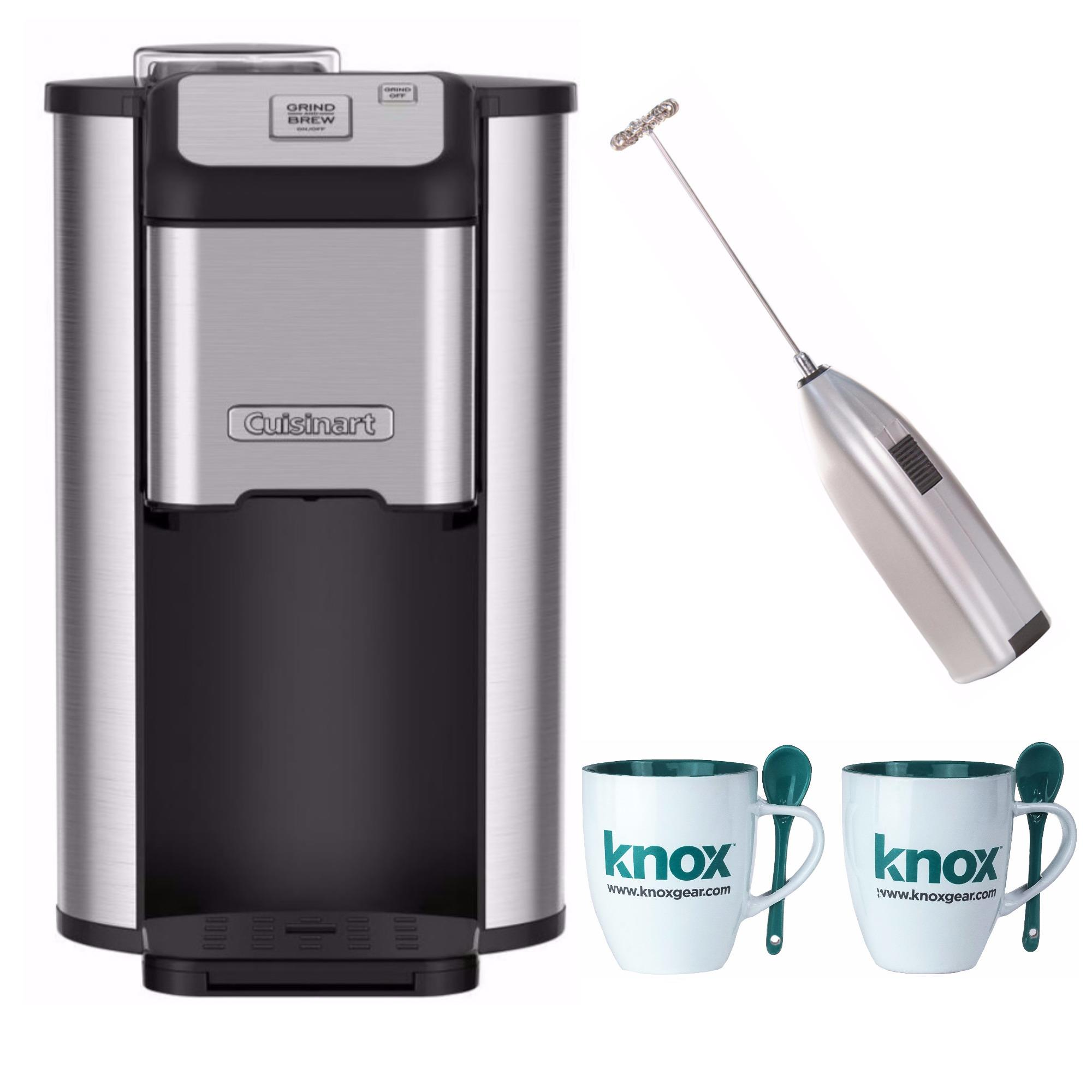 Cuisinart DGB1 Single Cup Grind & Brew Coffeemaker with Accessory Bundle