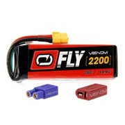 Venom Fly 30C 4S 2200mAh 14.8V LiPO Battery with Universal 2.0 Plug