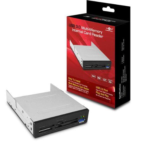 Vantec UGT-CR935 USB 3.0 Multi-Memory Internal Card Reader, Silver