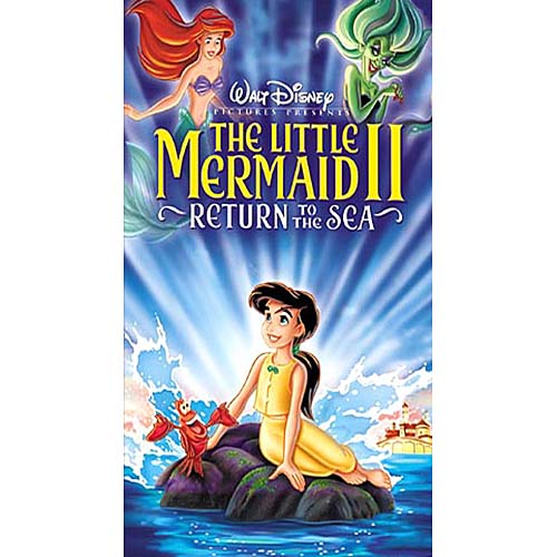 Little Mermaid II, The: Return to the Sea (VHS, 2000) No Case