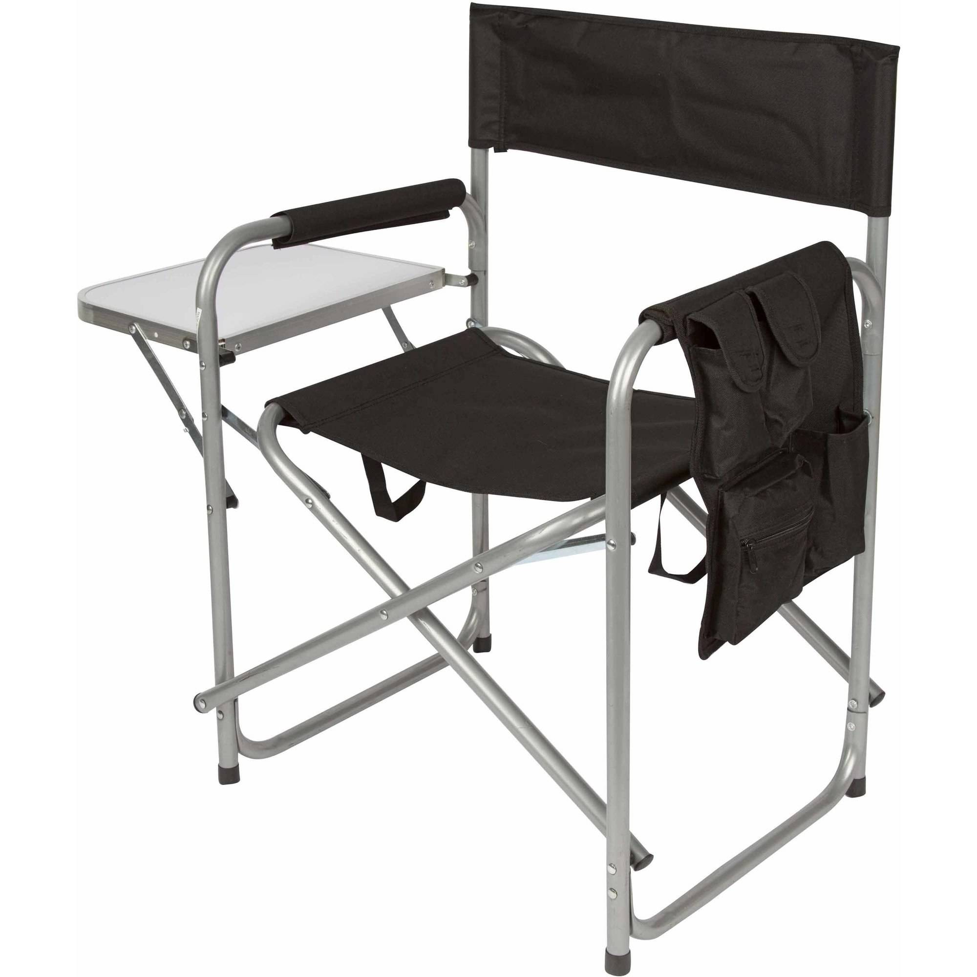 Trademark Innovations Folding Director s Chair with