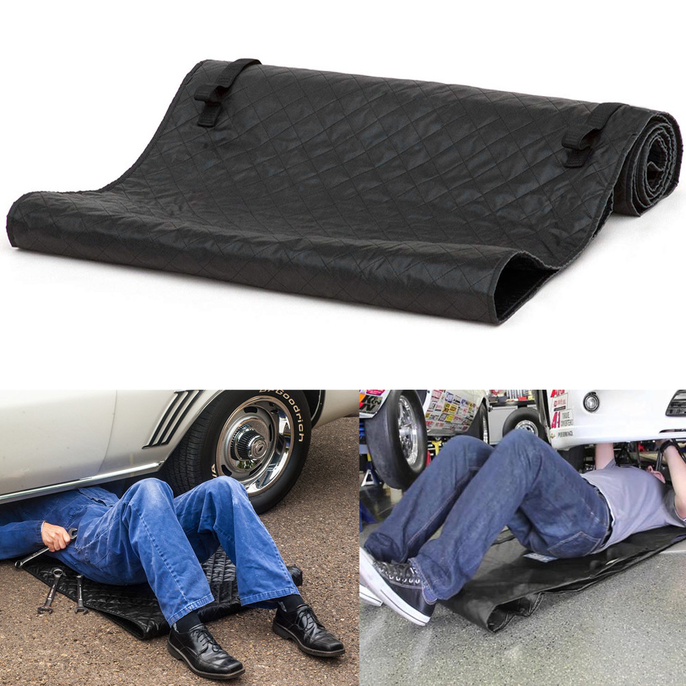 Womail Magic Creeper Pad Black Automotive Creeper Rolling Pad For Working On The Ground