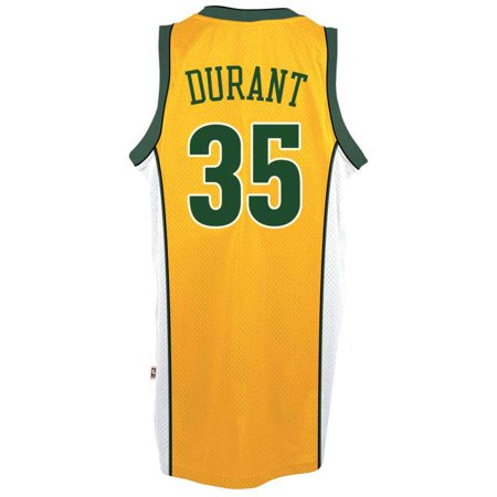 the best attitude 9d6bc ca7cc Kevin Durant Seattle SuperSonics Adidas Soul Swingman Jersey ...