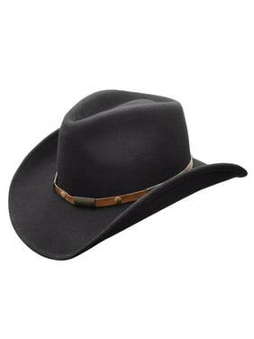 935f7dd6351 Product Image Conner Hats Men s Roper Shapeable Wool Hat Black S