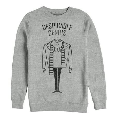 Despicable Me Men's Evil Genius Gru Sweatshirt (Gru Despicable Me Costume)