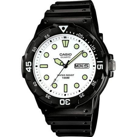 Casio Men's Core MRW200H-7EV Black Resin Quartz Watch