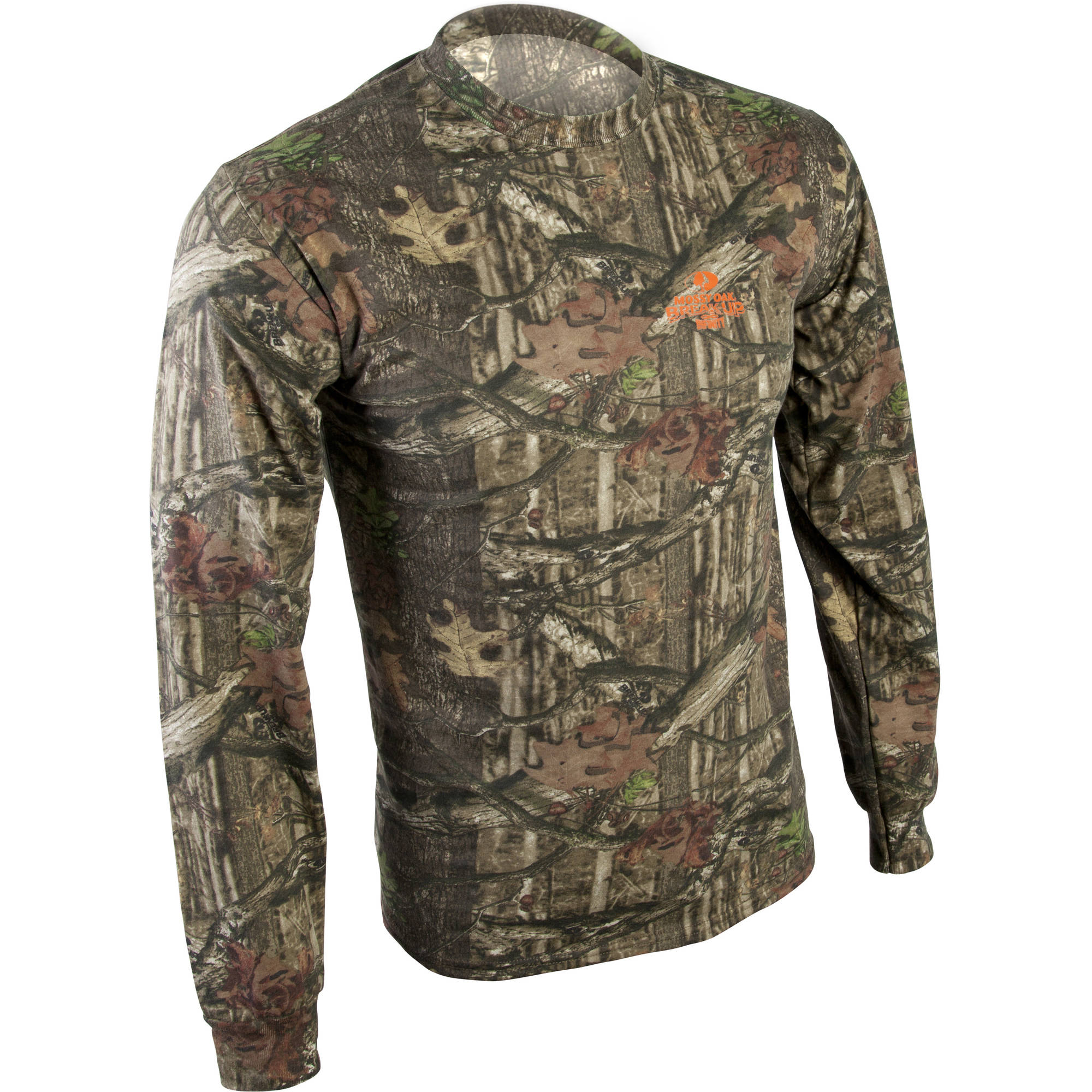 Mossy Oak Men's Camo Long Sleeve Tee