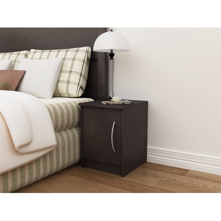 Homestar Finch 1-Door Nightstand, Multiple Finishes ()