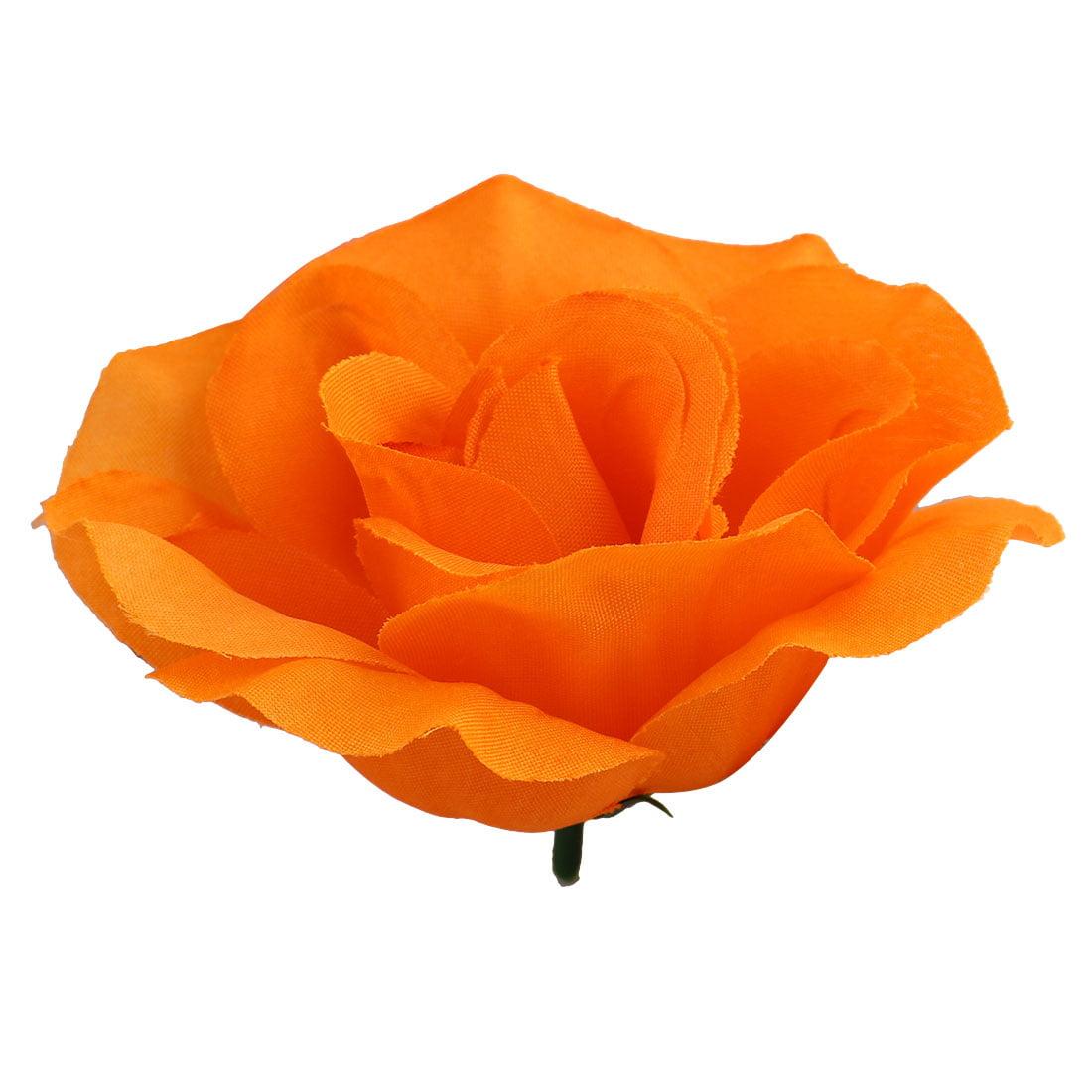 Household Table Handcraft Artificial Fabric Flower Rose Petal Head Decor # 1