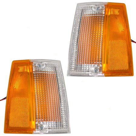 Side Replacement Signal Lamp (Driver and Passenger Signal Side Marker Lights Lamps Replacement for Mazda Pickup Truck UB3951100A UB3951090A )