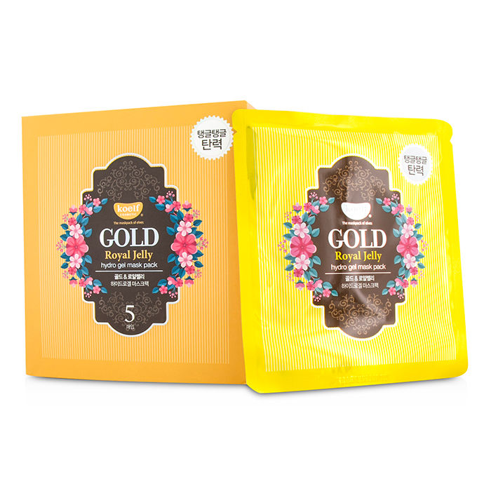 Koelf - Hydro Gel Mask Pack - Gold (Royal Jelly) - 5x30g/0.1oz