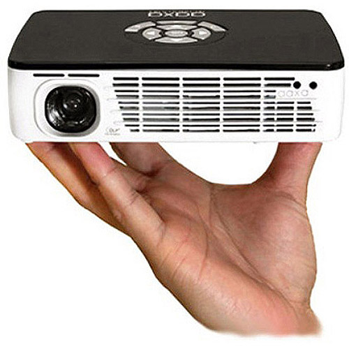 AAXA P300 HD Portable Pico Business LED Projector with 60+ Minute Li-ion Battery, HDMI and Media Player, 400 Lumens