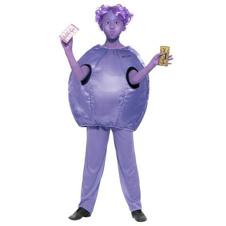 Adult Willy Wonka Costume (Willy Wonka Kids Violet Beauregarde)