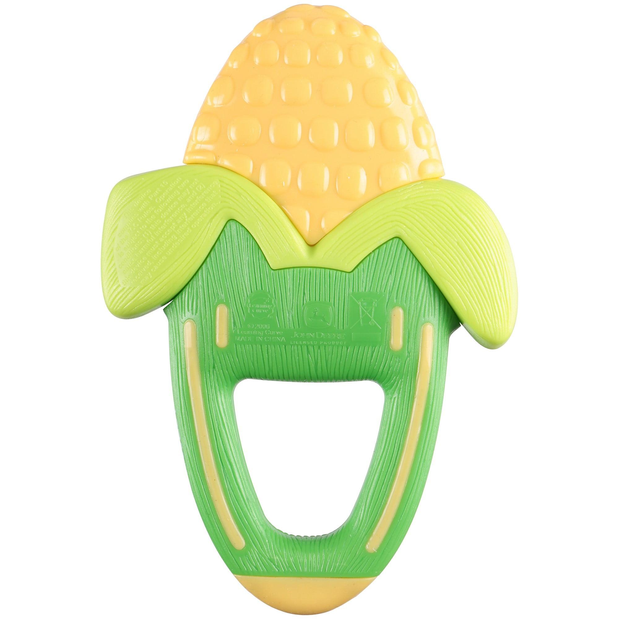 The First Years John Deere Massaging Corn Teether