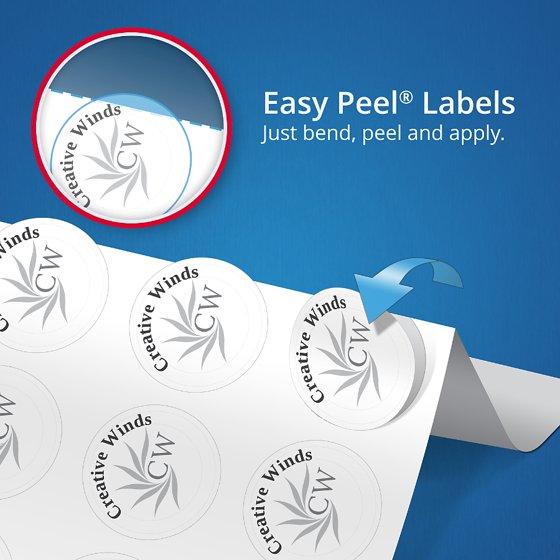 avery print to the edge square labels with trueblock 2 x 2 white 300 count walmartcom