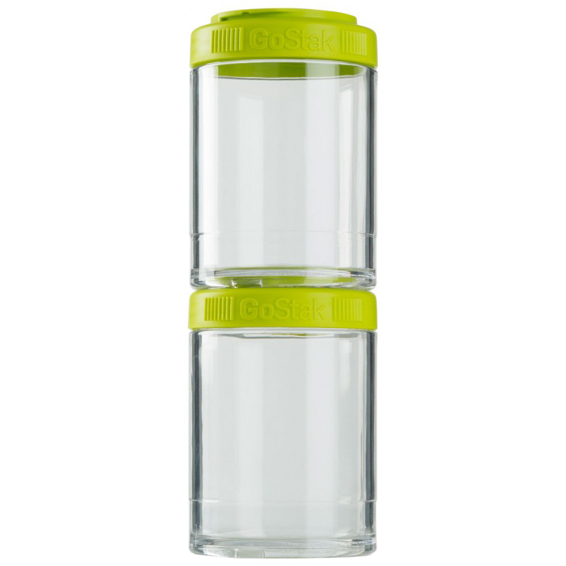 Blender Bottle GoStak 150cc 2Pak Twist n' Lock Storage Jars by Blender Bottle