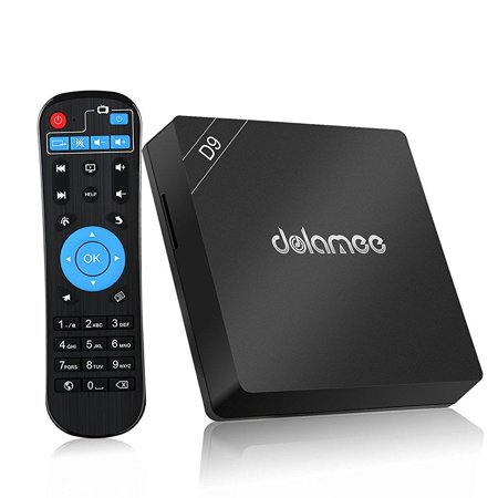 DOLAMEE D9 Android TV Box Amlogic S912 Octa Core 3GB Ram 16Gb Rom 4K,  2 4G/5G Dual Band Wi-Fi Gigabit Ethernet Smart TV Box