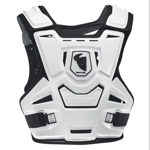 Thor Sentinel 2014 Chest Roost Protector Deflector White