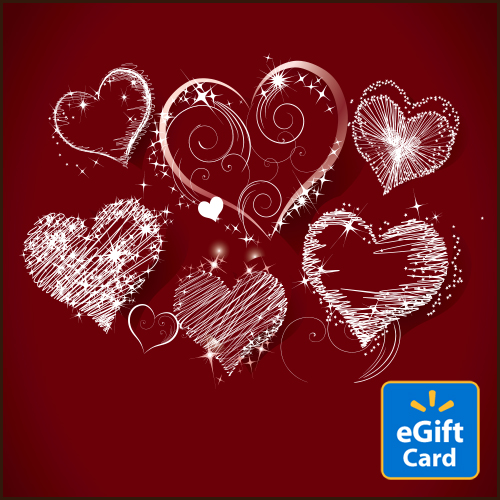 Sketchy Heart Walmart eGift Card
