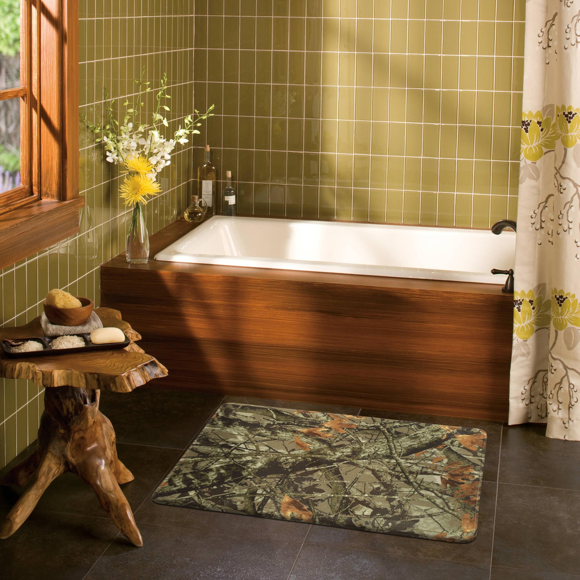 Mainstays Ozark Trail Memory Foam Bath Rug by Refine