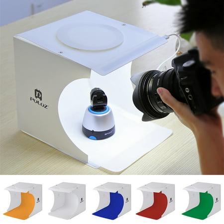 - Portable Foldable Mini Studio Photography Light Box Tent Kit with 5 Color Backgrounds, Mini Photo Studio, Light Room Box