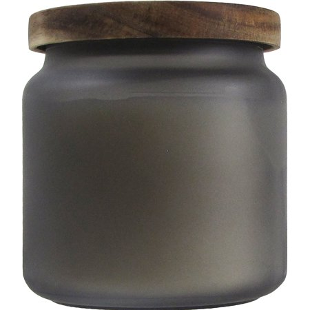 Better Homes & Gardens Frosted Glass Smoky Gray Mist 14 oz. Candle
