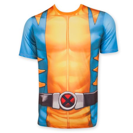 Wolverine Sublimated Costume Tee - Wolverine T Shirt Costume