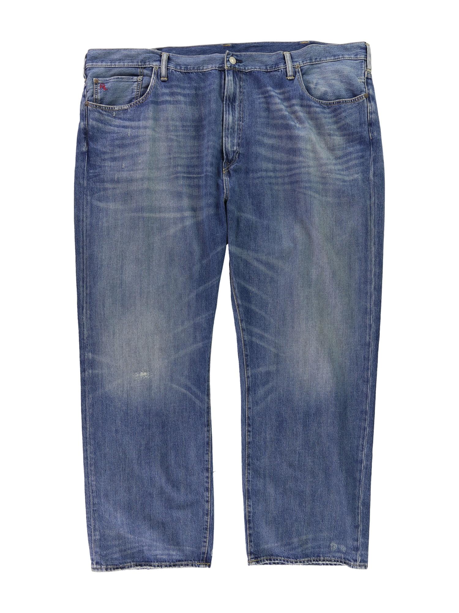 Ralph Lauren Mens Hampton Straight Leg Jeans