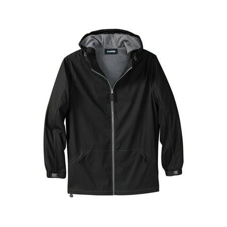 Kingsize Men's Big & Tall Fleece-lined Rain Coat ()