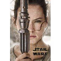 "Star Wars: Episode VII - The Force Awakens - Movie Poster / Print (Rey Teaser) (Size: 24"" x 36"")"
