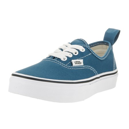 Vans Kids Authentic Elastic (Elastic Lace) Skate - How Lace Vans