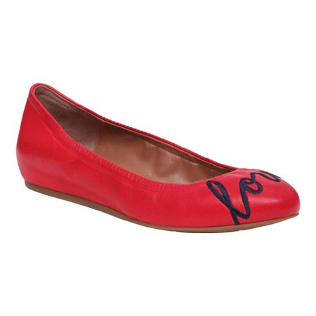 Women's ED Ellen DeGeneres Langston Love Ballet Flat - Lights Clothing