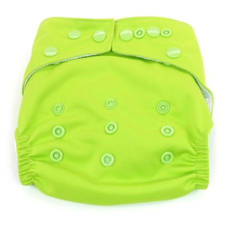 Dandelion Diapers Diaper Covers - Diaper Cover Shell with Snaps- One Size - Kiwifruit