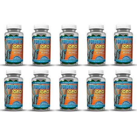 MaritzMayer Laboratories forskoline 1020 métabolique soutien de perte de poids Formule 20% 250mg 30 capsules (10 bouteilles)