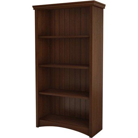 """South Shore Gascony 4-Shelf 58"""" Bookcase, Multiple Finishes"""