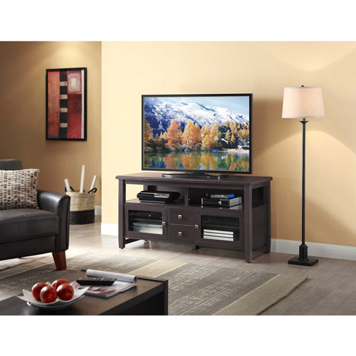 "Whalen TV Stand for TVs up to 60"", Espresso"