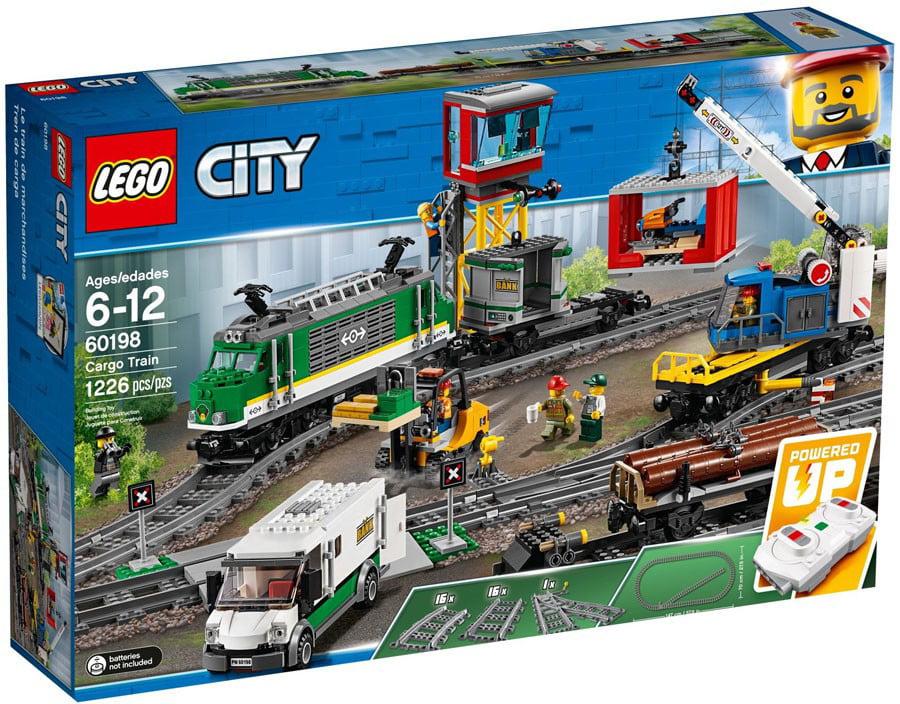City Cargo Train Set Lego 60198 by