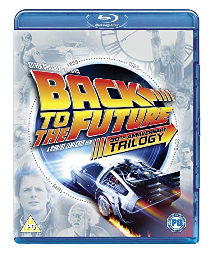 Back to the Future Trilogy (30th Anniversary Edition) - 4-Disc Box Set (  Back to the Future / Back to the Future Part II / Back to the Future Part  III