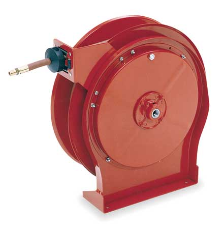 "1 2"" x 35 ft. Spring Return Hose Reel with Hose 2000 psi REELCRAFT A5835 OMP by Reelcraft"