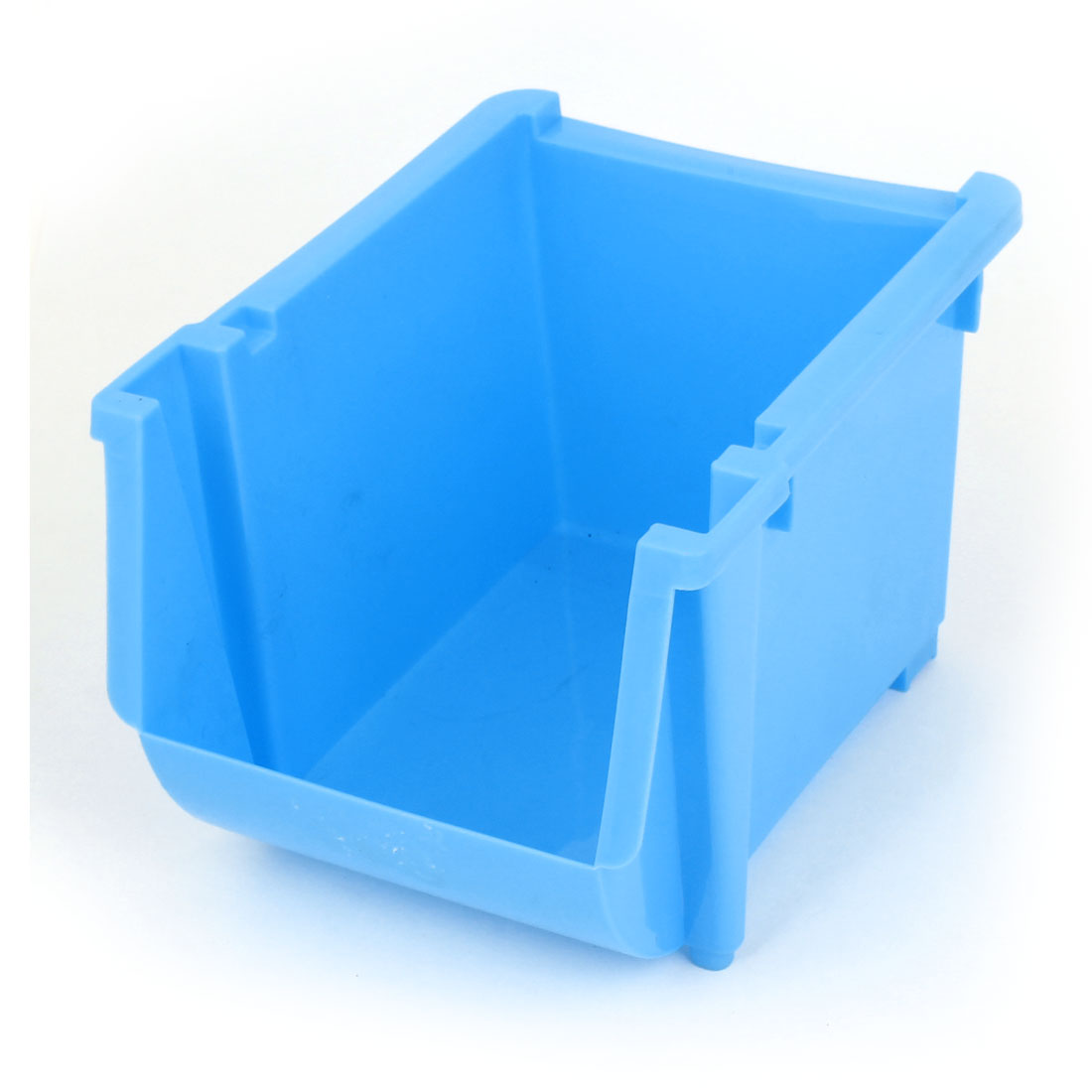 Car Blue Plastic Mobile Phone Mp5 Pocket Box Storage Holder