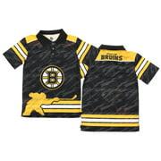 NHL Youth Boston Bruins Performance Short Sleeve Polo Shirt